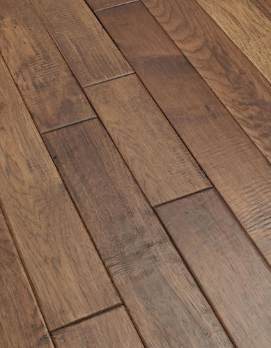 Batavia solid hickory hardwood flooring 3 4 x 4 for Hardwood floors menards