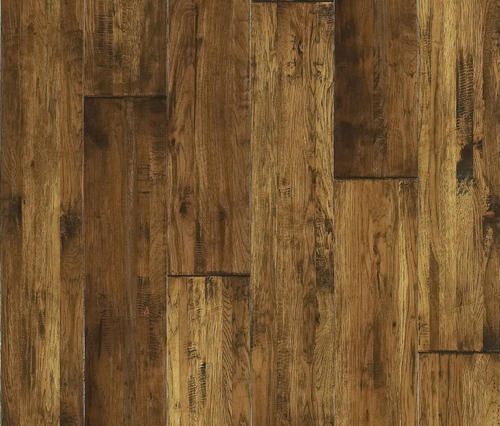 Millennia solid hickory hardwood flooring 3 4 x 8 for Hardwood floors menards