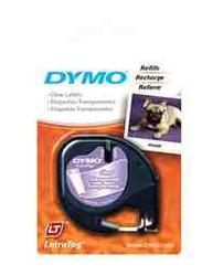 Dymo Clear Plastic Label Tape