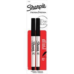 Sharpie Ultra Fine Black Permanent Markers - 2 ct