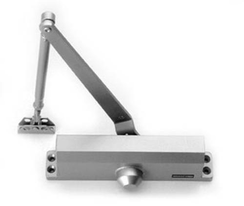 Exterior Door Closer With Mounting Brackets At Menards