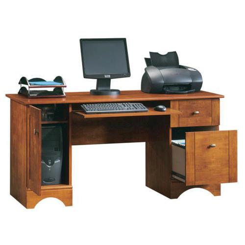 Sauder Bradford Brushed Maple Computer Desk At Menards