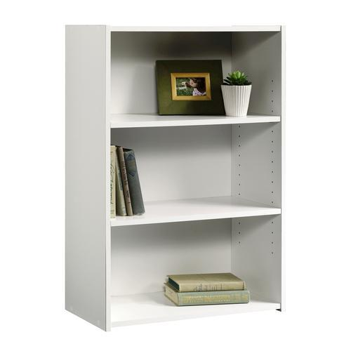 Sauder Beginnings Soft White 3-Shelf Bookcase At Menards®