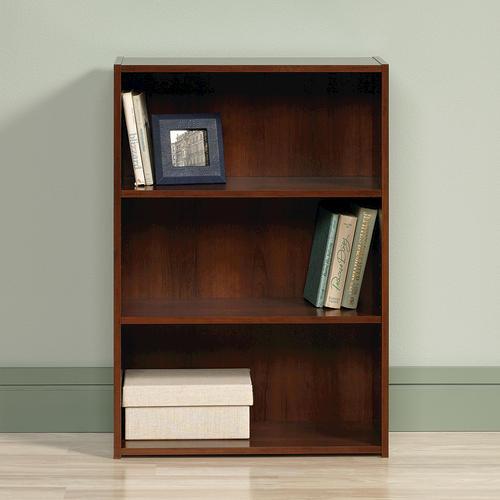 Sauder Beginnings Brook Cherry 3-Shelf Bookcase At Menards®