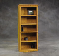 Sauder Orchard Hills Carolina Oak Library Bookcase