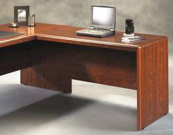 "Sauder Cornerstone 47"" Classic Cherry Desk Return"