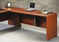 "Sauder Cornerstone 64"" Classic Cherry Desk Return"
