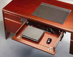 Sauder Cornerstone Classic Cherry Laptop Drawer