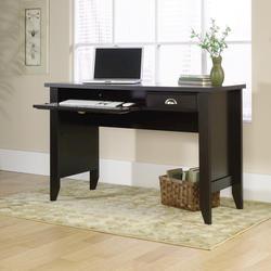 Sauder Shoal Creek Jamocha Wood Computer Desk