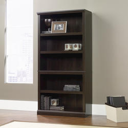 Sauder Select Cinnamon Cherry 5-Shelf Bookcase