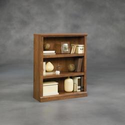 Sauder Select Oiled Oak 3-Shelf Bookcase