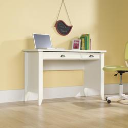Sauder Shoal Creek Soft White Computer Desk