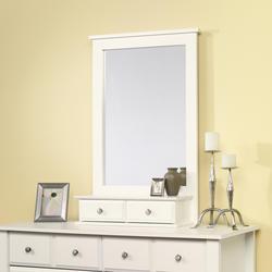 Sauder Shoal Creek Soft White Mirror