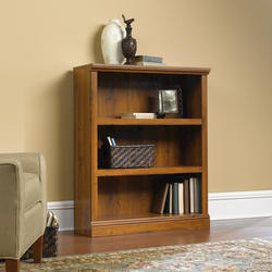 Sauder Select Abbey Oak 3-Shelf Bookcase