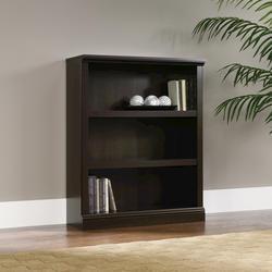 Sauder Select Cinnamon Cherry 3-Shelf Bookcase