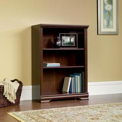 Sauder Carolina Select Cherry 3-Shelf Bookcase