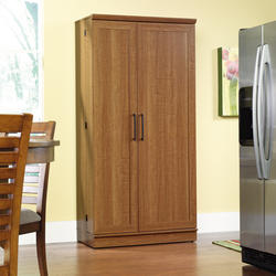 Sauder HomePlus Sienna Oak Storage Cabinet