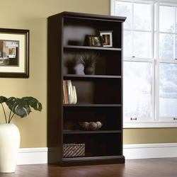 Sauder Select Estate Black Library