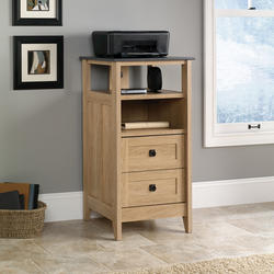 Sauder August Hill Dover Oak Technology Storage Cabinet