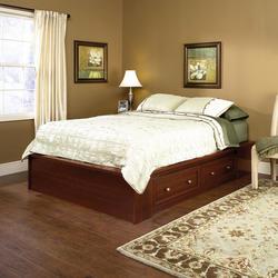 Sauder Palladia Select Cherry Queen Platform Bed