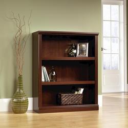 Sauder Select Cherry 3-Shelf Bookcase