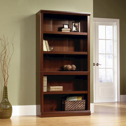 Sauder Select Cherry 5-Shelf Bookcase