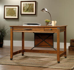 Sauder Carson Forge Washington Cherry Writing Desk
