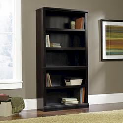 Sauder Select Estate Black 5-Shelf Bookcase