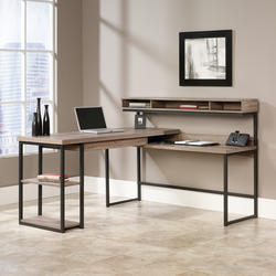 Sauder Select Salt Oak L-Shaped Desk