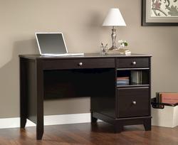 Sauder Camarin Jamocha Wood Computer Desk