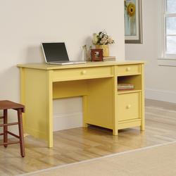 Sauder Original Cottage Melon Yellow Desk
