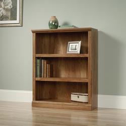 Sauder Select American Chestnut 3-Shelf Bookcase