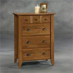 Sauder Shoal Creek Oiled Oak 4-Drawer Chest
