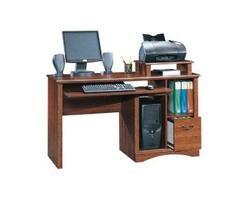 Sauder Camden County Planked Cherry Computer Desk