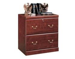 Sauder Heritage Hill Classic Cherry Base Lateral File Cabinet