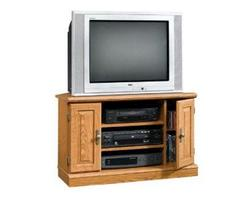 Sauder Orchard Hills Carolina Oak Corner TV Stand