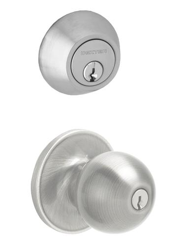 Dexter Corona Single Cylinder Entry Knob And Deadbolt At Menards