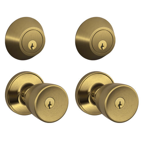 Dexter Byron Single Cylinder Entry Knob And Deadbolt At Menards