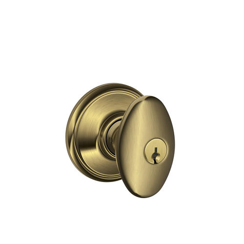 Schlage Siena Knob Keyed Entry Lock At Menards
