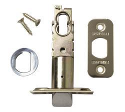 Schlage Bright Brass Triple Option Spring Latch for Interior Lockset