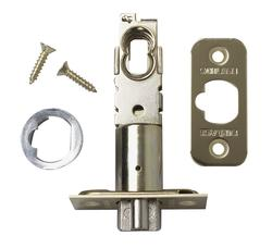 Schlage Bright Brass Triple Option Dead Latch for Exterior Lockset