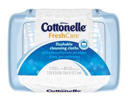 Cottonelle Flushable Moist Wipe Tub