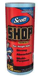 Scott® Blue Shop Towels on a Roll