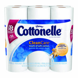 Cottonelle 18 Pack Clean Care Bath Tissue
