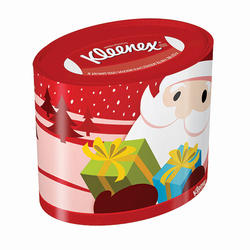 Kleenex 76 Ct Holiday Tissue