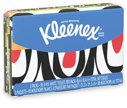 Kleenex 2 Pack Slim Pack Wallet Display