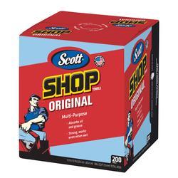 Scott® Shop Towels Box - 200 Count