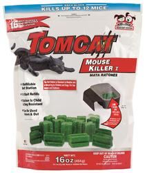 Tomcat® Refillable Mouse Bait Station w/ 16 Refills