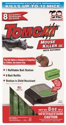 Tomcat® Refillable Mouse Bait Station w/ 8 Refills