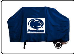 "68""W x 43""H x 23""D Canvas Collegiate Grill Cover"
